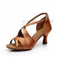 New Women's Lady's Girl's Heeled Latin Salsa Tango Ballroom Dance Shoes B62