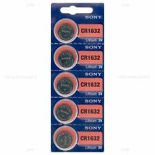 100 NEW SONY CR1632 3V Lithium Coin Battery Exp 2026 FRESHLY NEW - USA Seller