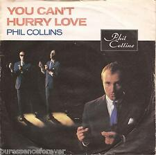 "PHIL COLLINS - You Can't Hurry Love (UK 2 Tk 1982 7"" Single PS)"