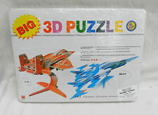 3D Puzzle / Model F 16 FIghter Plane x 2 - BNIB