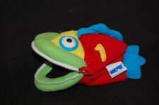 "REPLACEMENT HOOPLA ANDRE COUNTING FISH 123 PLUSH 8"" STUFFED ANIMAL LOVEY TOY #1"