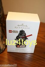 2011 Hallmark Star Wars Lego Darth Vader Ornament 1st in Series New in Box