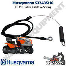 Genuine Husqvarna Clutch Cable 532435110 (NOT AFTERMARKET)