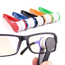 1PC Mini Lunettes de lunettes de soleil Lunettes Microfibre Cleaner Brosse