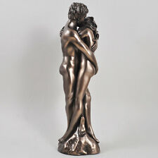 """Man Women """"As One"""" Cold Cast Bronze Sculpture Erotic Art by Love Is Blue"""
