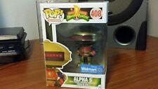 Funko Pop Power Rangers Alpha 5 Walmart Exclusive in Protector Box Not Mint