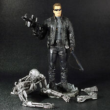 "Terminator 3 T3 Rise of the Machines T-850 7"" Figure w/ Endoskeleton McFarlane"