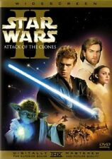 Like New DVD Star Wars: Episode II - Attack of the Clones WS 2 Disc Sets