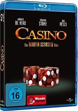 CASINO (Robert De Niro, Sharon Stone, Joe Pesci) Blu-ray Disc NEU+OVP