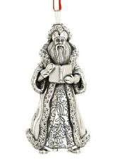 2013 Reed Barton 10th Sterling World Nikolas Myra Christmas Ornament Decoration