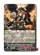 Cardfight Vanguard  x 4 Stealth Demon of Crow Feathers, Fugen - G-TCB02/028EN -