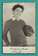MICHAEL ANDE | Kinderstar Schauspieler | Original-Autogramm auf Druck-Postkarte