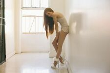 Jeffrey Campbell Cookie Suede Heels white new in box white 5