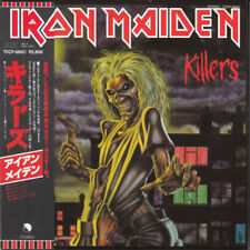 IRON MAIDEN KILLERS CD MINI LP OBI (JAPANISE BOOKLETS)