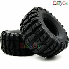 2pcs New RC 1/10 135mm 2.2 Crawler Truck Tires Tyres fit RC4WD 2.2 Beadlock Rims