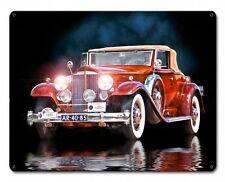 1932 Buick Model 56 Le Photiste Oldtimer US Car Retro Sign Blechschild Schild