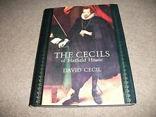 VINTAGE H/BACK BOOK THE CECILS OF HATFIELD HOUSE DAVID CECIL WITH PERSONAL INSCR