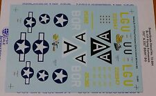 Microscale Decal 1:72 Scale #72-804 / Boeing B-17F Flying Fortresses: 322nd &