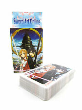 Sword Art Online SAO Kirito & Asuna's Yui Cosplay poker/playing cards A