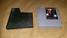 1989 LJN Nightmare on Elm St Nintendo NES 8BIT Tested FREE SHIPN Freddy Krueger