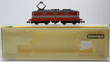 Minitrix 2976/12976 E-Lok Re 4/4 II 11112 SBB SwissExpress OVP*M 1750