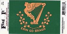 """Erin Go Bragh - 3.5"""" x 5"""" Vinyl Decal Sticker"""