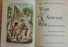 Mark Twain Tom Sawyer Hardback Illustrated