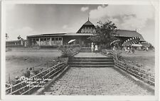 Foreign Postcard c1950 PHILLIPINE ISLANDS RPPC Taal Vista Lodge Tagaytay City
