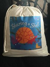 Sharing A Shell (By Julia Donaldson) Empty Story Sack NEW
