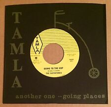"THE SATINTONES Going to the Hop / Motor City Third Man Tamla Motown 7"" Leverette"