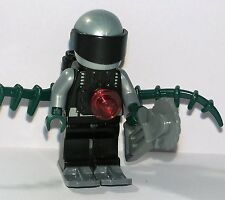 Lego - Space - Tentacle Alien Horror Monster Robot Cyborg Bad Guy Man Minifigure