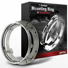"""OPT7 7"""" LED Headlight Adapter Mounting Ring - For Harley Davidson Motorcycles"""