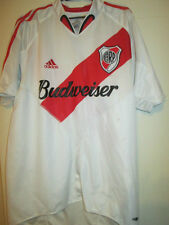 River Plate 2005-2006 Home Football Shirt Size Medium Adults /34983