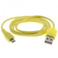 1 Meter Universal USB 2.0 to Micro USB M-M Connection DataCharge Cable YELLOW