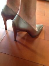 Charles Jourdan Womens 8; Metallic Pumps