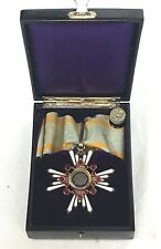 WWII Japanese Military Order Of The Sacred Treasure 3rd Class Medal