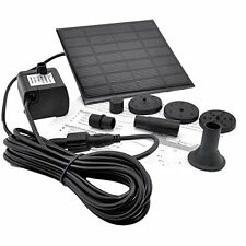 IMC Hot Solar Panel Power Submersible Fountain Pond Water Pump