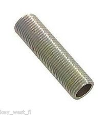 "3/8"" Long All Thread Pipe Nipple for Lamp Making & Repair{ LOT of 10 } ~  by PLD"