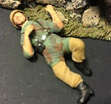 WW2Wounded German Paratrooper Professionally Hand Detailed Painted Built 1/35