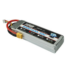 HRB 6000mAh 3S 11.1v 50C-100C RC Lipo Battery XT60 For Monster Truck Airplane