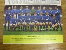 1967/1968 Football League Review: Vol 2 No 24 - Colour Picture - Leicester City