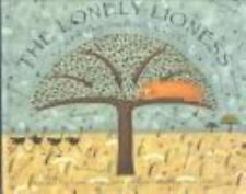 The Lonely Lioness and the Ostrich Chicks (Stepping Stone Books)-ExLibrary