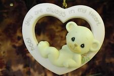 "Precious Moments-#530972 ""1994 You Are Always In My Heart"" Annual Animal ORN-NEW"