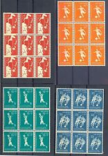 NED ANTILLEN 1957   # 265/68   (  x 9)     KW € 90    ** PF LUXE  FOOTBALL
