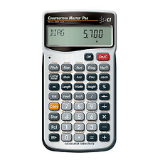 Calculated Industries 4065 Master Pro Advanced Construction Math Calculator