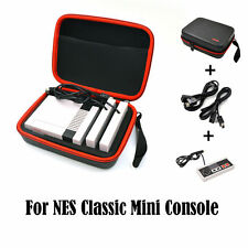 2x Extension Cables +Controller+ Case Bag for Nintendo NES Classic Mini Console