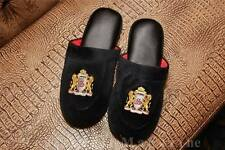 MEN VELVET HOUSE SLIPPERS SIZES 9, 10, 11, 12, 13