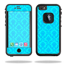 Skin Decal Wrap for Lifeproof iPhone 6/6S Case fre cover Blue Vintage