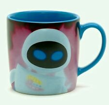 NEW DISNEY STORE 3D EVE SLOGAN CHARACTER MUG CUP SCULPTED WALL-E  PIXAR