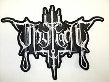 THY LIGHT SHAPED LOGO          EMBROIDERED BACK PATCH